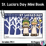 St. Lucia's Day Mini Book for Early Readers - Christmas Ac