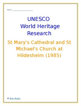 St Mary's Cathedral and St Michael's Church at Hildesheim Germany Research Guide