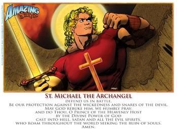 St. Michael Prayer Poster/card