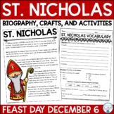 St. Nicholas Day Biography & Activities