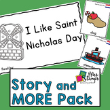 St. Nicholas Day Emergent Reader and Activities: Holidays
