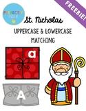 St. Nicholas Day - Letter Match Freebie