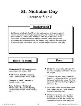 St. Nicholas Day: Making Books