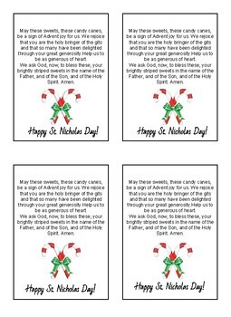 St. Nicholas Day Tags