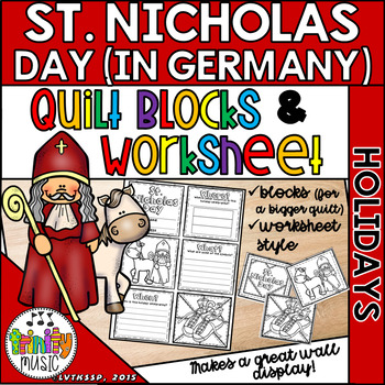 St. Nicholas Day in Germany Quilts (Winter Holiday)