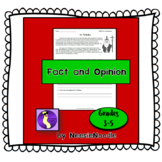 St. Nicholas Fact and Opinion Printable Worksheet