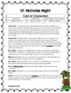 St. Nicholas Night Reader's Theater and Close Reading Toolkit