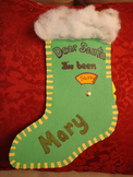 St. Nick Behavior Stocking