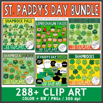 St. Paddy's Clip Art BUNDLE: $25.25 Value