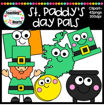 St. Paddy's Day Pals Clipart