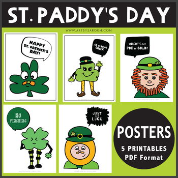 St. Paddy's Day Posters