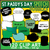 St. Paddy's Day Speech Bubbles