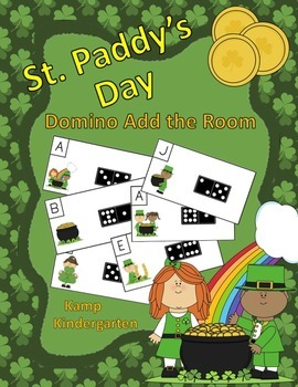 St. Paddy's Day Domino Add the Room (Sums of 0 to 10)