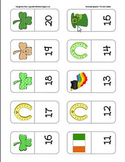 St. Paddy's Day Dominoes: Number Recognition