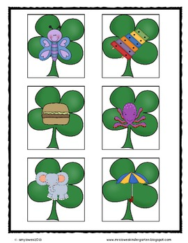 St. Paddy's Day Math and Literacy Unit