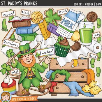 "St Patrick's Day Clip Art: ""St Paddy's Pranks"""