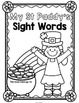 St Paddy's Sight Words {Pre-Primer} Print and Go