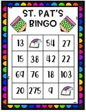 St. Pat's Math Review Bingo