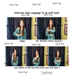 Language - St. Patrick's Day noun phrases, plurals and ASL