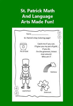 St. Patrick Bundle Activities Made Fun!