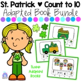 St. Patrick Counting Adapted Books BUNDLE | Shamrock | Gold Coins | Rainbow Kids