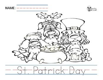 St. Patrick Day Activity Set