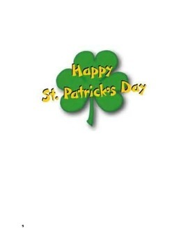 St. Patrick Day Book
