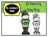 St Patrick Day Boy