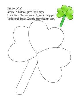 St Patrick Day Craft