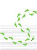 St. Patrick Day Leprechaun Footprints Paper