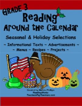 Reading Around The Calendar - Grade 3