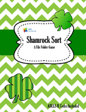 St. Patrick Day Sorting Game with ABLLS-R Codes