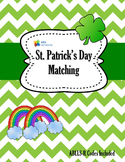 St. Patrick Day Themed Matching Game with ABLLS-R Codes