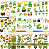 St. Patrick' Day clip art mega bundle (9 packs)