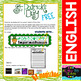 St. Patrick FREE Code Word Work Cards for Kids