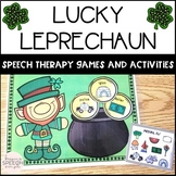 St. Patrick Games and Activities for Articulation and Phonology