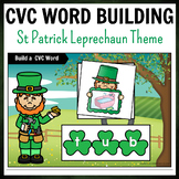 St. Patrick Leprechaun Themed CVC Word Building Pack