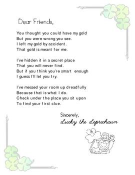 St. Patrick Letter