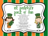 St. Patrick Pack O' Fun