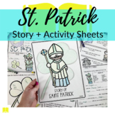 St. Patrick Story + Activity Sheets for Sunday School or H