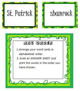 St. Patrick Word Centers