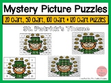 St Patrick's 20, 50, 100 & 120 Chart Mystery Picture Puzzles