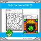 St. Patrick's Day Coloring Pages Addition and Subtraction