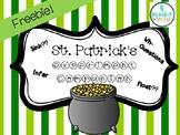 St. Patrick's Activity