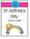 St. Patrick's Day Activity Folder
