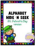 St. Patrick's Alphabet Hide-n-Seek