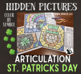 St. Patrick's Artic Hidden Pictures (Color by Symbol) A Sp