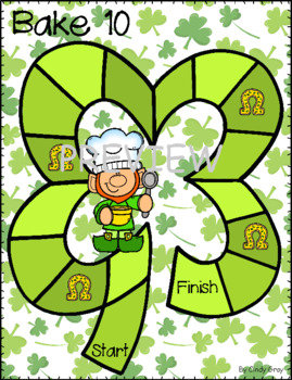 St. Patrick's Bake 10 ~ What Makes 10? ~ Using Ten Frames