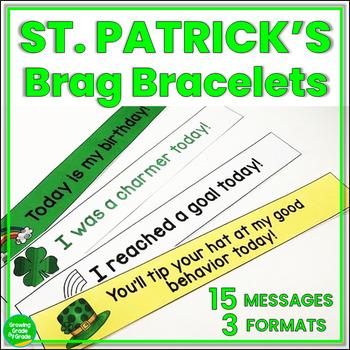 St. Patrick's Brag Tag Bracelets