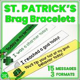 St. Patrick's Day Brag Bracelets